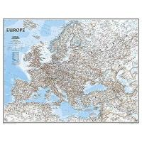 TSV St. Otmar St. Gallen Europa, Classic, politisch, Grossformat, laminiert: 1:5419000: Wall Maps Continents (National Geographic Reference Map)