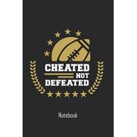Orleans Cheated not defeated: Football Notebook | college book | diary | journal | booklet | memo | 110 sheets - ruled paper
