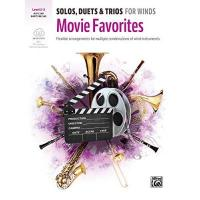 Geschenke aus Plessa Solos, Duets & Trios for Winds: Movie Favorites for Alto Saxophone, Baritone Saxophone: Flexible Arrangements for Multiple Combinations of Wind ... Book & Book & Online Audio/Software/PDF