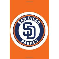 San Diego Padres San Diego Padres notebook - MLA Fan Essential: Blanked Lined Notebook Journal for Writing and Taking Notes, Baseball journal, sport notebook, notepad, diary