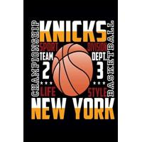New York Knicks new york knicks basketball championship: Notebook, journal, diary 6x9 inches, for Basketball fans, 110 lined pages A5, High quality, matte cover.