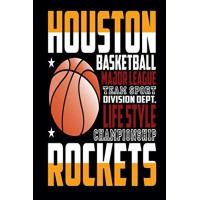 Houston Rockets houston rockets basketball: Notebook, journal, diary 6x9 inches, for houston Basketball fans, 110 lined pages A5, High quality, matte cover.