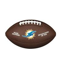 Miami Dolphins Wilson NFL Team Logo Composite Fußball, Miami Dolphins, Official