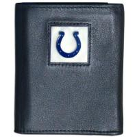 Indianapolis Colts Siskiyou NFL Indianapolis Colts Leather Tri-Fold Wallet
