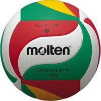 BERLIN RECYCLING Volleys molten Volleyball V5m9000-M Ball, Weiß/Grün/Rot/Gelb, 5