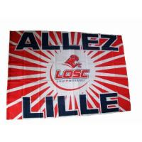 Lille Lille Olympique Sporting Club - Offizielles Handtuch LOSC Lille Olympique, Wappen, 100x150cm, Ligue 1, Fußball