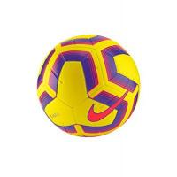 Atiker Konyaspor Nike Unisex-Adult Strike Team Soccer Ball, Yellow/Purple/Flash Crimson, 5