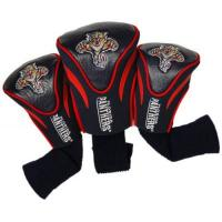 Florida Panthers Team Golf NHL Florida Panthers Contour Golf Club Headcovers (3 Count), Numbered 1, 3, X, Fits Oversized Drivers, Utility, Rescue & Fairway Clubs, Velour Lined for Extra Club Protection