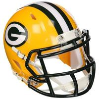 Green Bay Packers NFL Riddell Football Speed Mini Helm Green Bay Packers