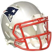 New England Patriots Riddell Speed Mini Helm, New England Patriots, 7.5 x 6.5""