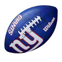 New York Giants Wilson Unisex-Youth NFL JR TEAM LOGO FB NG American Football, JUNIOR