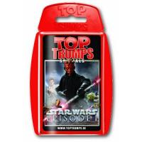 Geschenke für Kinder Winning Moves 61793 - Top Trumps - Star Wars Episode I, Kartenspiel