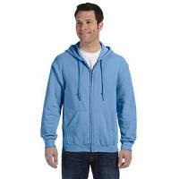 Miami Marlins Gildan - Heavy Blend Full Zip Hooded Sweatshirt Gr. XL, Blau (Carolina Blue)