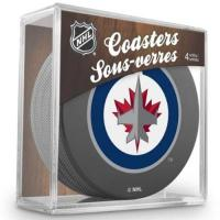 Winnipeg Jets Sher-Wood Winnipeg Jets NHL Eishockey Puck Untersetzer (4er Set)