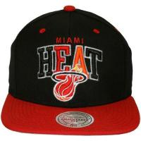 Miami Heat mitchell and ness BLACK TRI MIAMI HEAT schwarz