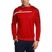 Stabæk IF Jako Herren Sweatshirt Sweat Performance, rot/Weiß/Schwarz, XL