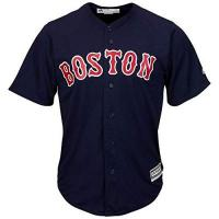 Boston Red Sox Majestic Athletic MLB Boston Red Sox Cool Base Alternate Navy Jersey XX Large