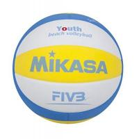 WWK Volleys Herrsching Mikasa Ball Sbv Youth Beachvolleyball, Blau/Weiß/Gelb, 5, 1629