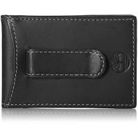 Timberland Geschenke Timberland Men's Hunter Minimalist Slim Money Clip Wallet, Black, One Size