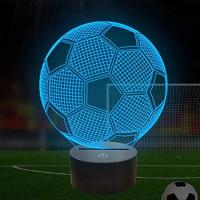 Tottenham Optical Illusion 3D Football Lamp – Fußball Lampe