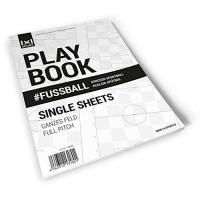 Atiker Konyaspor 1x1SPORT Komplettes Fußballfeld A4 Playbook #Fussball Single Sheets