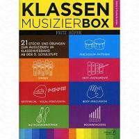 Geschenke für Fachverkäufer für Computerspiele, Multimediaprodukte und Software/in Klassenmusizierbox - arrangiert für Ensemble [Noten/Sheetmusic] Komponist : Hoefer Fritz