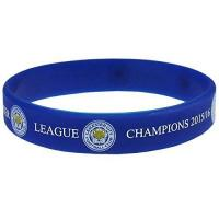 Leicester Offizielles Leicester City FC Champions Silikon Armband
