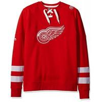 Detroit Red Wings Majestic Detroit RED Wings NHL Centre Men's Pullover Crew Sweatshirt (S)