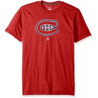 Montréal Canadiens raise-the-level NHL Eishockey T-Shirt Montreal Canadiens rot in L (Large)