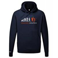 United Volleys Frankfurt Jayess Volleyball Evolution - Herren UND Damen Hoodie in Navy by Gr. L