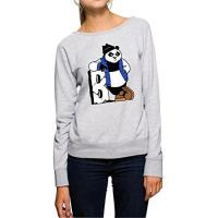 Geschenke aus Berlin-Spandau Berlin Bear Sweater Girls Grey Certified Freak-L