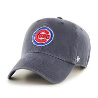 Chicago Cubs '47 Unisex MLB Chicago Cubs Clean Up Baseballkappe, Vintage Navy, One Size