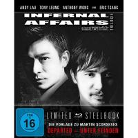 Turin Infernal Affairs 1-3 - Trilogie - Uncut/Steelbook [Blu-ray] [Limited Edition]