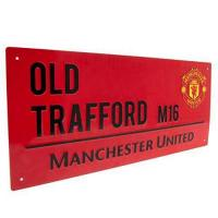 Man. United Club Licensed Manchester United Street Sign RD