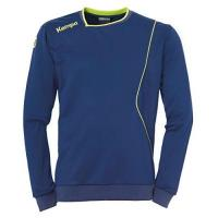 TV Emsdetten Kempa Herren Curve Training TOP Shirt, deep blau/Fluo gelb, M