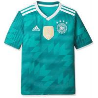Deutschland adidas Kinder Dfb Away Jersey 2018 Trikot, grün (eqt green s16/White/Real teal s10), 164