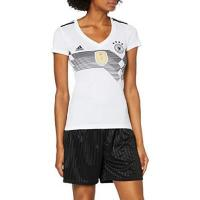 Deutschland adidas Damen Dfb Home Replica Trikot, weiß(White/Black), M