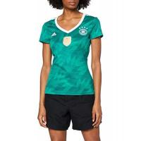 Deutschland adidas Damen DFB Away Jersey 2018 Trikot, EQT Green s16/White/Real Teal s10, M