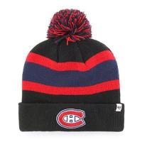 Montréal Canadiens 47 Brand NHL Montreal Canadiens Breakaway Cuff Knit Beany Hat One Size Mütze Forty Seven