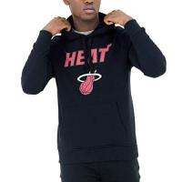 Miami Heat New Era Fleece Hoody - NBA Miami Heat schwarz - L