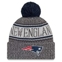 New England Patriots New Era NFL Sideline Graphite Mütze - New England Patriots