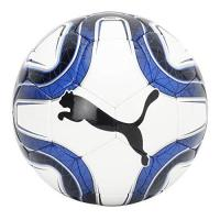 Ol. Marseille PUMA FINAL 5 HS Trainer Fußball, White-Team Power Blue Black, 5