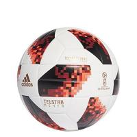 St. Truiden adidas Herren World Cup Knock Out Fußball, White/Solar Red/Black, 5