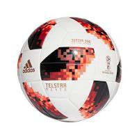 AIK Solna adidas Herren World Cup Knock Out J350 Fußball, White/Solar Red/Black, 5