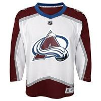 Colorado Avalanche NHL by Outerstuff NHL Colorado Avalanche Kids & Youth Boys Replica Jersey-Away, White, Youth Large/X-Large(14-18)