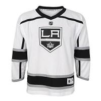 Los Angeles Kings NHL by Outerstuff NHL Los Angeles Kings Kids & Youth Boys Replica Jersey-Away, White, Kids One Size