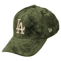 Los Angeles Angels New Era Los Angeles Dodgers 9forty Adjustable Women Cap - MLB Quilted - Olive/Gold - One-Size