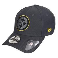 Pittsburgh Steelers New Era Pittsburgh Steelers 9forty Adjustable Cap - NFL Hex Era - Graphite - One-Size
