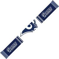 Los Angeles Rams Forever Collectibles Los Angeles Rams Bar Scarf Colour Rush Navy/White - One-Size