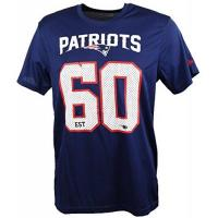 New England Patriots New Era New England Patriots T Shirt/Tee NFL Supporters Navy - XXL